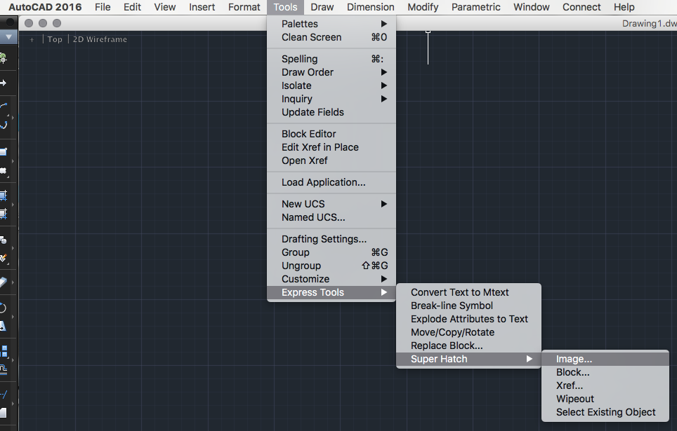Express tools autocad 2013
